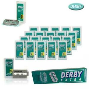 100 Derby Extra Double Edge Safety Razor Blades