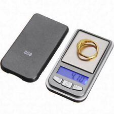 Mini 0.01g-200g LCD Ultrathin Jewelry Drug Digital Portable Pocket Scale Silver