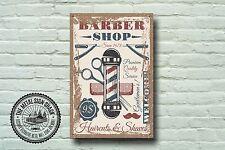 Barber SHOP insegna, segno di metallo, Barbiere segni, uno stile moderno, barbiere, 973