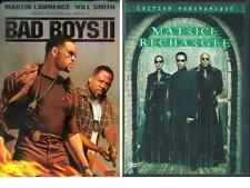LOT 2 DVD BAD BOYS 2 + MATRICE RECHARGEE DVD ZONE 1