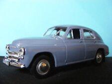 Warszawa M-20  Blue  with black trim De Agostini Polska Import NEW 1:43 rd.Scale