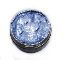 Ash Blue Washable Colored Styling Hair Wax Pomade for Men and Women Unisex Dye