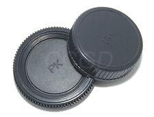 Camera Body + Rear Lens Cap for Pentax KR K-R K-7 K-5 K200D K-X K20D DSLR Camera