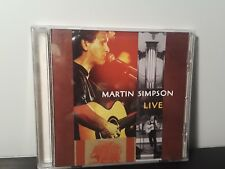 Martin Simpson - Live (At the Holywell Music Room, Oxford) (CD, Red House)