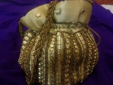 Wedding Bridal Purse Clutch Pouch Indian Traditional Ethnic Party Hand Potli Bag