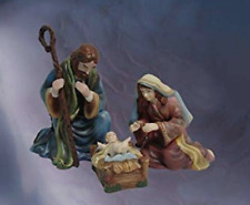 New ListingNew ~ Hawthorne Thomas Kinkade kinkade Christ child Mother Mary + Father Joseph