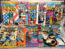 First Comics AMERICAN FLAGG (VOL 1) 22 BOOK LOT # 1-39 SPECIAL 1 CHAYKIN VF 1983
