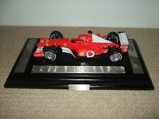 GPL Mattel 1/18 Ferrari F2002 Michael Schumacher World Champion Presentation
