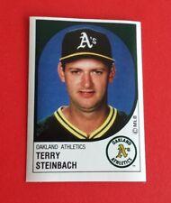 1988 Panini Baseball Terry Steinbach Sticker #166***Oakland Athletics***