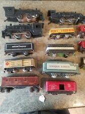 Huge 13 Piece Lot Vintage Marx Lionel Trains ENGINES and CARS lionel