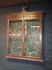 Rare! Corkscrews~ Lifetime Collection~153 piece~Display Cabinet