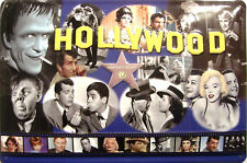 Stars of Hollywood Blechschild Schild 3D geprägt gewölbt Tin Sign 20 x 30 cm