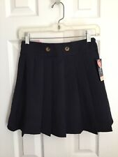 French Toast Navy Blue Scooter Skirt Size Girls 10 Nwt