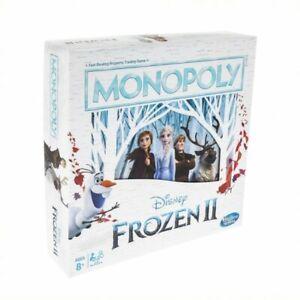 Monopoly Disneys Frozen 2 Board Game - Free Shipping
