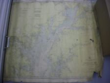Vintage C&GS Navigational Chart 1226 Chesapeake Bay Sandy Pt to Head of Bay1942