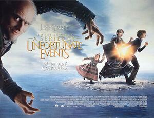 Lemony Snicket's Ein Serie Von Unfortunate Events Original Filmplakat