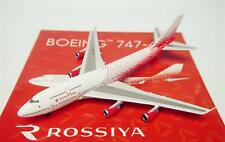 Phoenix 1/400 Diecast Aircraft Model B747-400 Rossiya Russian Airlines,11317