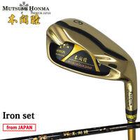 2019 MUTSUMI HONMA Golf Japan MH626 Maraging Iron set #6,7,8,9,10,11,Aw,Sw 19at