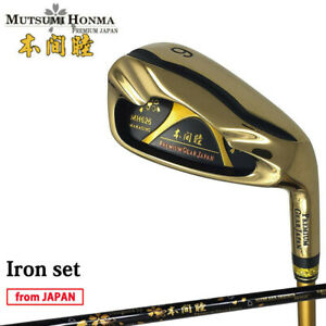 MUTSUMI HONMA Golf Japan MH626 Maraging Iron set #6,7,8,9,10,11,Aw,Sw 2021c