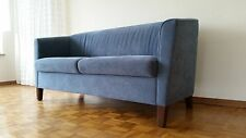 Sofa und Sessel blau von Wittmann Modell Mira