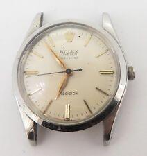 Vintage 1961 Rolex Oyster Speedking Steel Mens Watch 6420 $1N/R