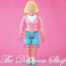 Fisher Price Loving Family Dream Dollhouse Blond Mom Mother woman doll People