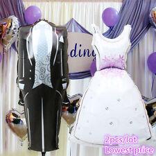 Bride and Groom Bridal Dresses Aluminum Balloon Wedding Party Decorative Balloon