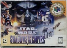 Star Wars Shadows of the Empire Nintendo 64 Video Game w/ instructions Used 1996
