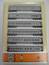N SCALE Train - CON-COR Maintenance of Way 6 Car Set  0003-570020 Passenger cars