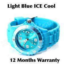 ICE COOL L BLUE COLOUR WATCH UNISEX LADIES MENS CHILDREN SILICONE WRIST WATCH