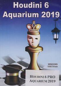 Houdini 6 PRO Aquarium 2019 (DVD). NEW CHESS SOFTWARE
