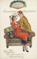 Arthur Butcher Signed Christmas Greetings Wishes For The Best of Everything