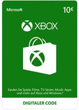 Xbox Live 10 Euro Card Microsoft - MS 10 € Guthaben Karte Xbox 360 Code Key [EU]