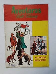 ADVENTURES OF WALT DISNEY #46 - THE HEADLESS HORSE - COMIC IN SPANISH NO NOVARO