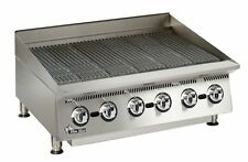 "Star 8136RCBB Ultra-max 36"" Wide Countertop Radiant Gas Charbroiler"