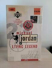1998 Upper Deck Michael Jordan A Living Legend Brand New Factory Sealed Box