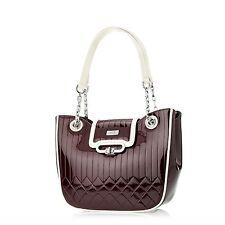 Serenade Cherry Venetian Genuine Leather Handbag (H86-9922)