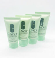 4 x Clinique Foaming Facial Soap Cleanser Very Dry to Combination Oily 30ml