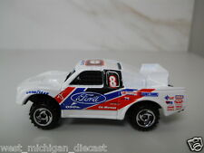 Hot Wheels Ford Racing Truck BAD MUDDER Off Road 1/64 Scale JC4
