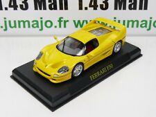 FER11E voiture 1/43 IXO altaya : FERRARI F50 (Jaune)