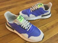 Adidas Originals ZX 500 RM Boost BD7867 Lilac/White Mens Size 9