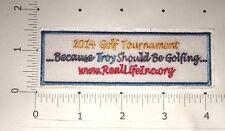 "2014 Golf Tournament Patch - Wentworth Golf Club, Florida  -  4"" x 1 1/2"""