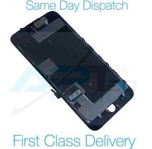 iPhone 8 Plus Screen LCD Display Black Assembly With Camera Speaker And Adhesive