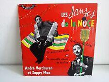 "ANDRE VERCHUREN / ZAPPY MAX Les danses de la noce FLD 13S 25 CMS 10"""