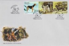 Dachshund Fox Hound Norwegian Elkhound Hunting Dogs Aland Finland Fdc 2015