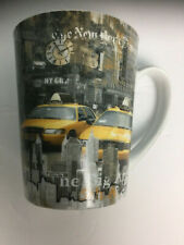 Dora Papis Mug Paris New York Yellow Cab Big Apple Easy Life Cup