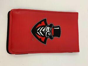 Sunfish Golf Score Card Holder Austin Peay Let's Go Red Logo S070