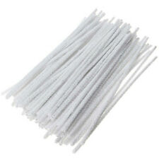 100Pcs Intensive Cotton Pipe Cleaners Smoking /Tobacco Pipe Cleaning Tool White