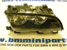 BMW E46 COUPE CONV RIGHT HALOGEN HEADLIGHT RHD 63126904278