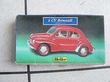Heller  Modellbausatz Auto  1/43 im Karton- ..4 CV Renault  (zum basteln)